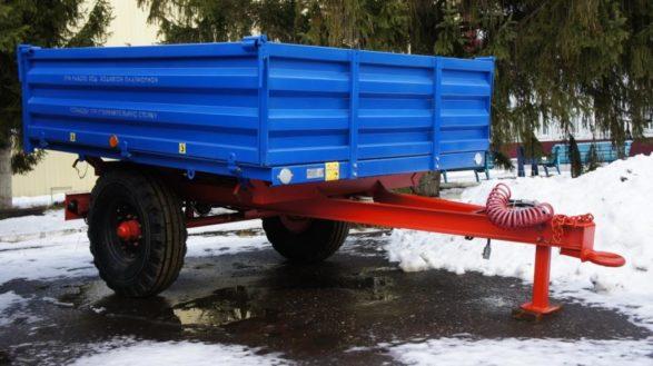 Полуприцеп тракторный самосвальный 1ПТС-2