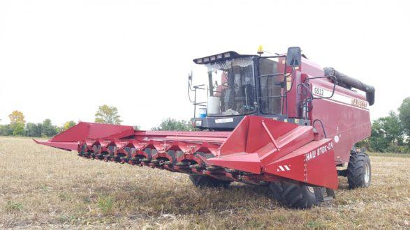 Жатки для уборки кукурузы марки НАШ-870К