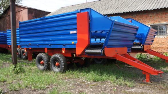 Полуприцеп раздатчик кормов тракторный ПРКТ-10-02