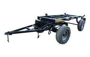 Шасси для тракторного прицепа 2ПТС-5