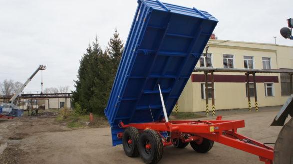Полуприцеп тракторный самосвальный ППТС-5