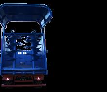 Полуприцеп тракторный ПТ-18+РОУ