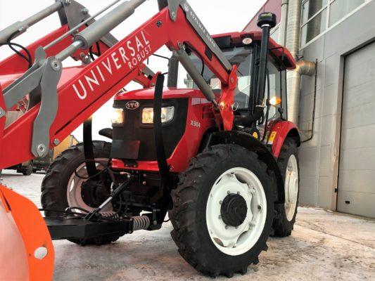 Навесной погрузчик универсал на трактор YTO